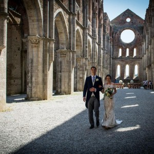 civil wedding in Tuscany