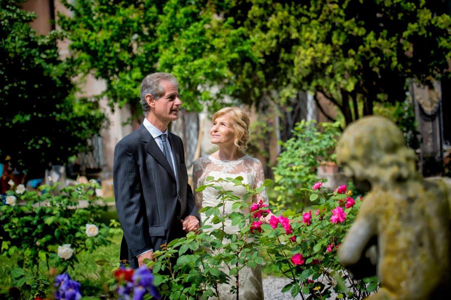 Renew of wedding vows in Venice – Edgardo and Ana