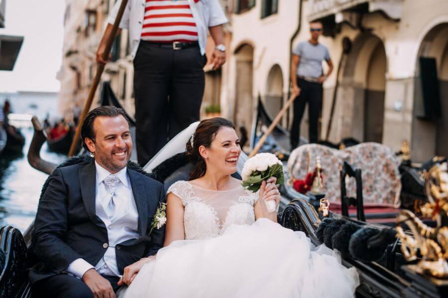 Catholic wedding in Venice: Sarah and Adriano