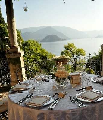 Exclusive wedding venue in the Italian Lakes