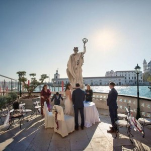elegant wedding in Venice
