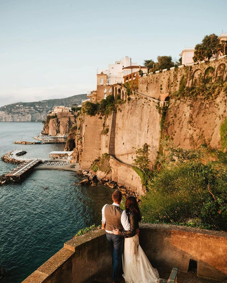 Wedding restaurant in Sorrento with breathtaking view