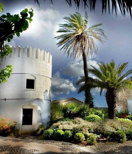 Wedding venue in mediterranean island