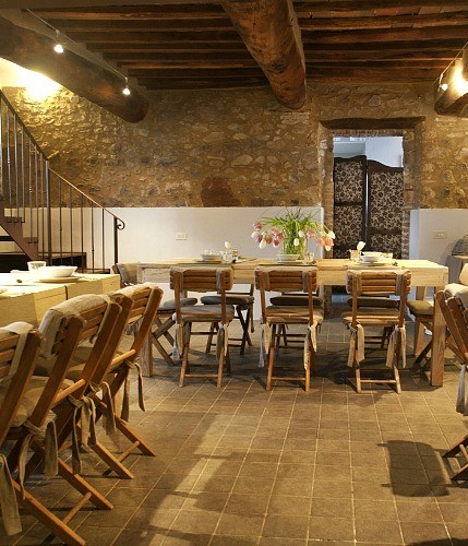 Romantic villa for wedding reception near the Abbey of San Galgano