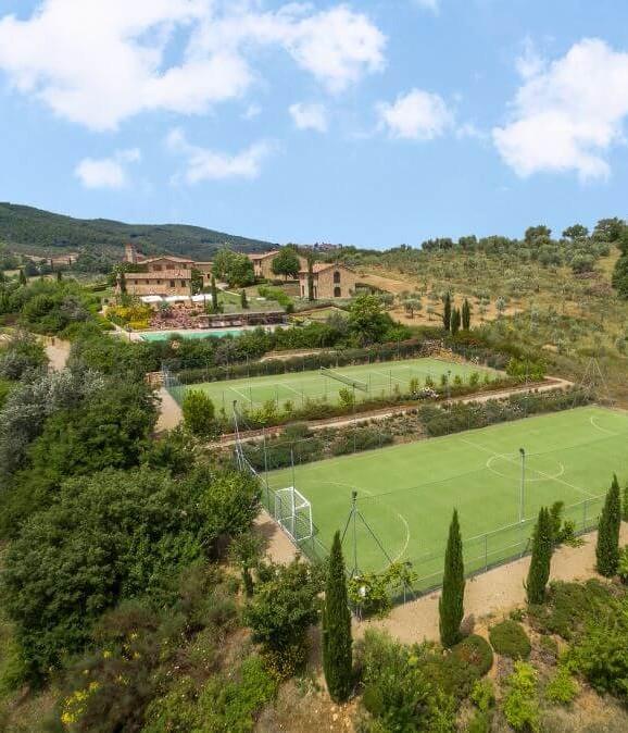 Stunning wedding venue in Tuscany