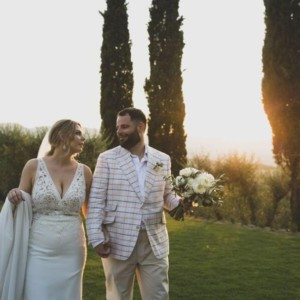 Rustic wedding in Tuscany – Jason and Zoe