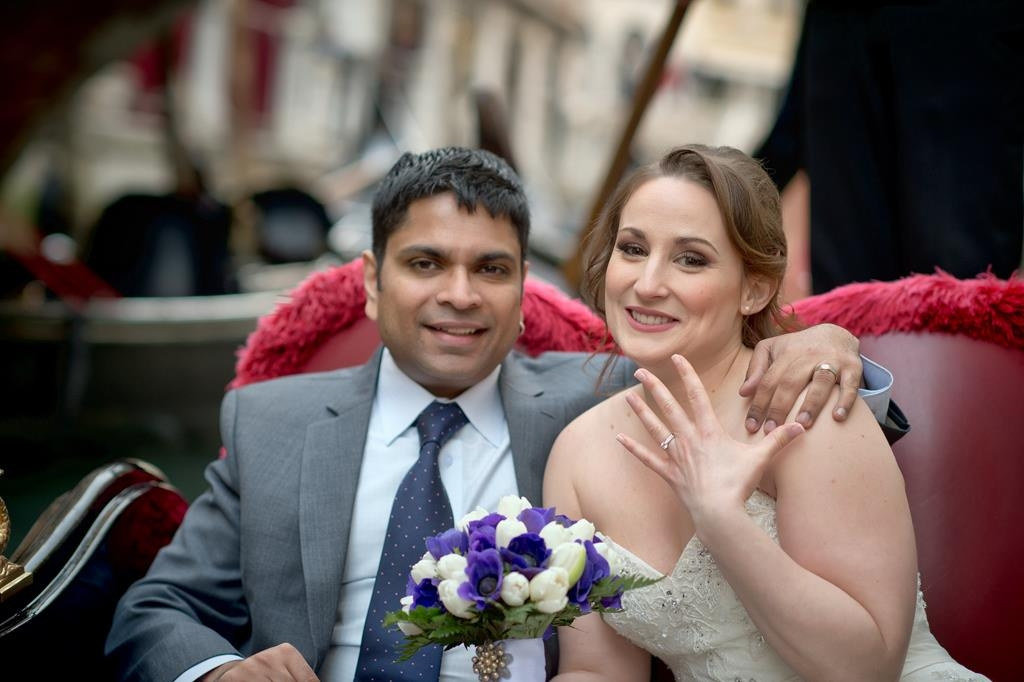 Spring wedding ceremony in Venice- Danielle and Arif