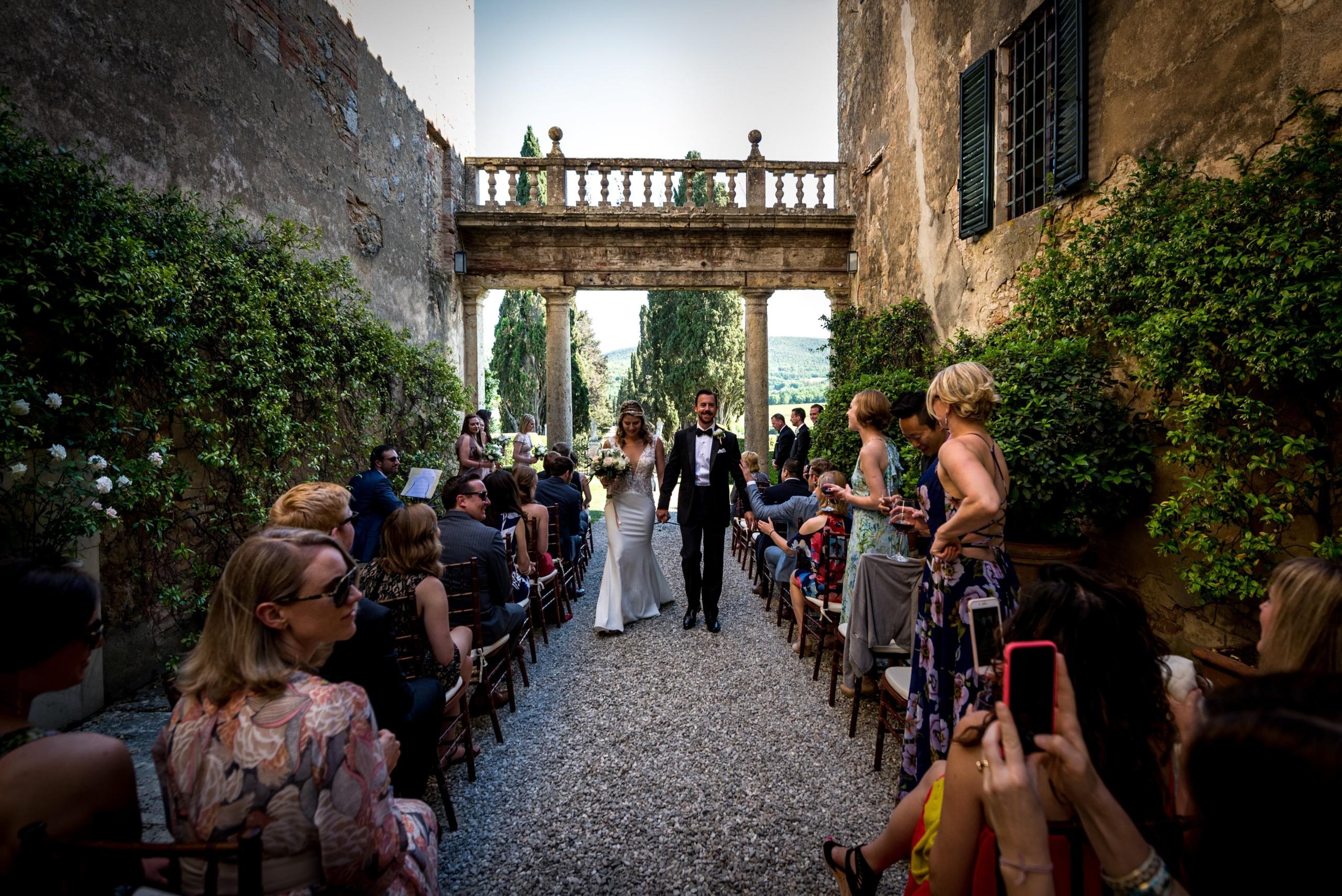 Destination wedding in Tuscany – Erin and Matt