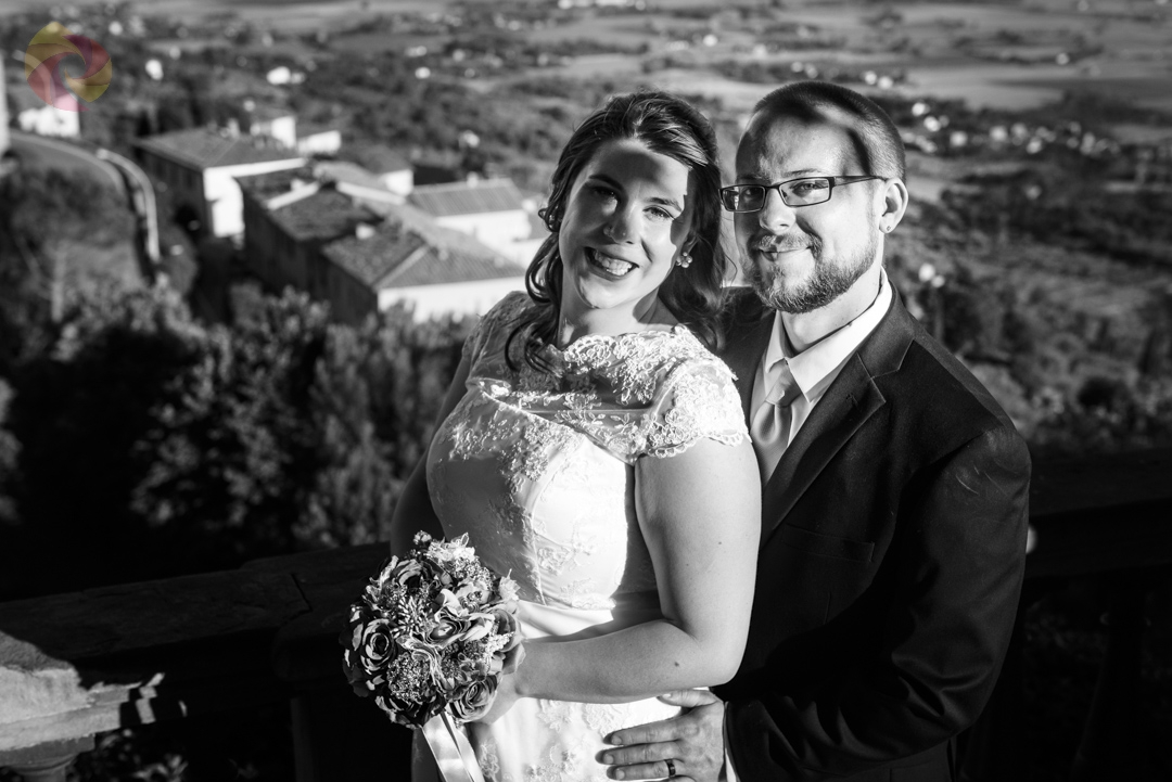 Wedding for Two in Tuscany – Shawnee and Kevin