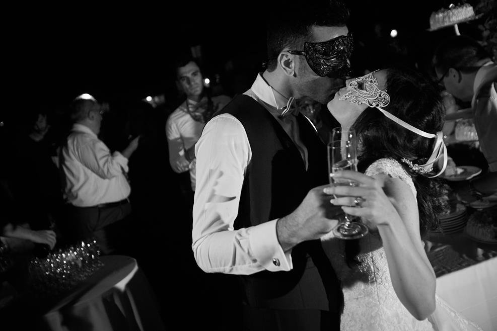 Wedding catholic ceremony in Venice