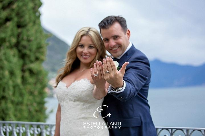Civil ceremony at Lake Como – Kimberly and Robert