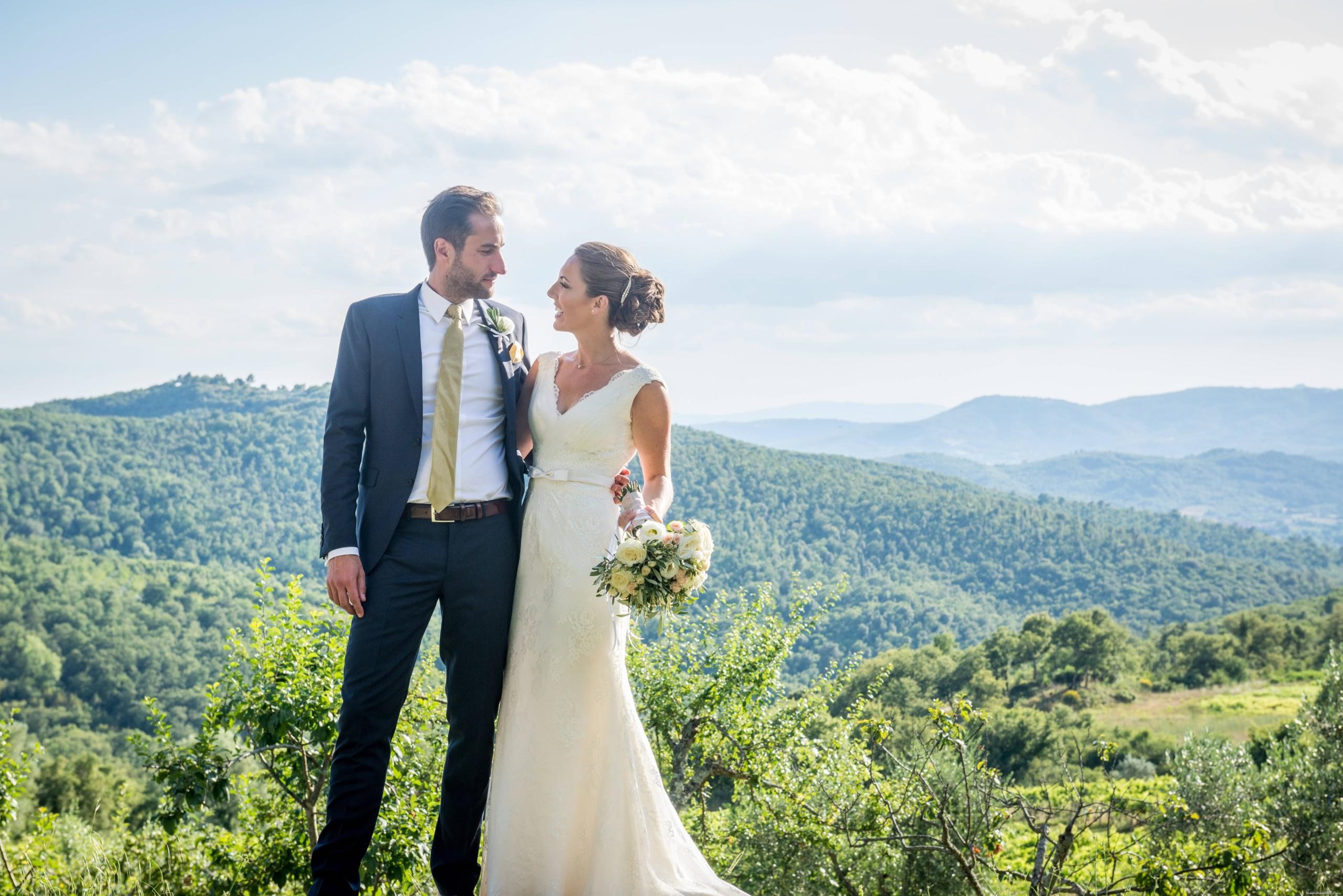 Symbolic ceremony in Tuscany – Katarina and David