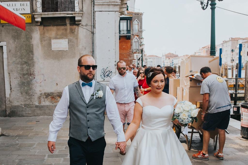 Summer Civil ceremony in Venice- Melissa and Matt