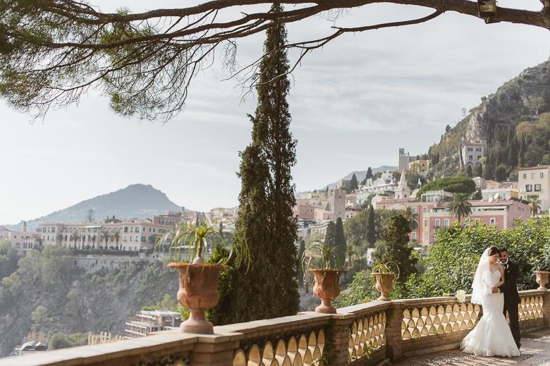 Getting married in Taormina – Marina and Giordano