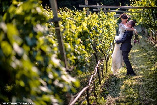 Wedding in Piedmont, the land of the vineyards