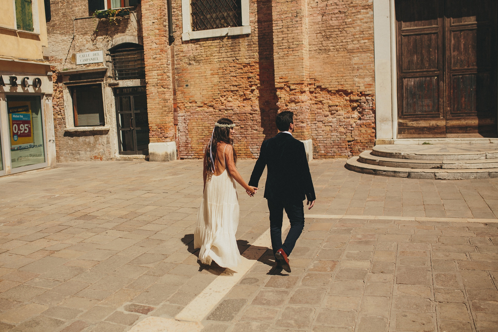 Civil ceremony in Venice – Cecilia and Juan