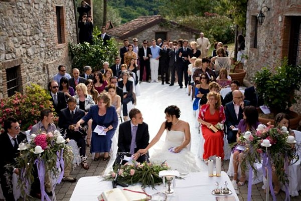 civil ceremony in Italy