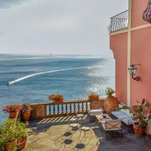 luxury private villa in positano