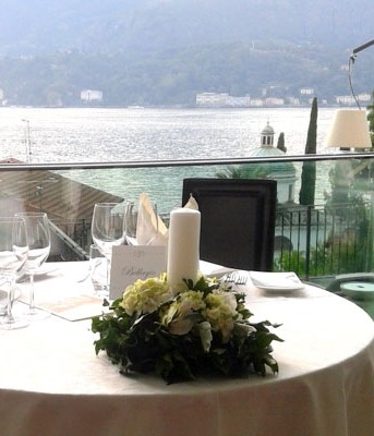 Wedding restaurant in Bellagio Lake Como