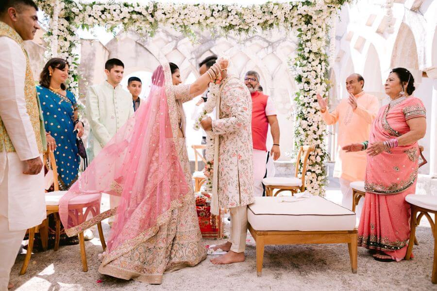 Amazing indian wedding in Amalfi coast