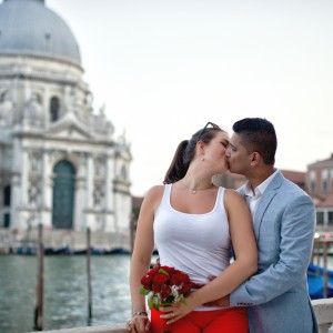 She said yes!!! Engagement in Venice