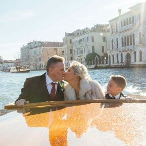 Intimate winter wedding in Venice – Claire and Jeffrey