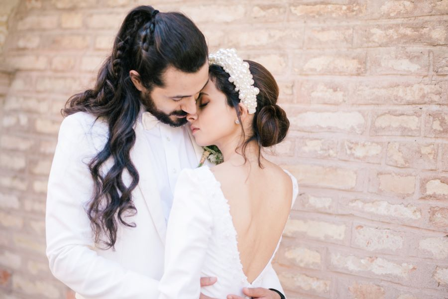 Micro wedding in Italy: Benito and May