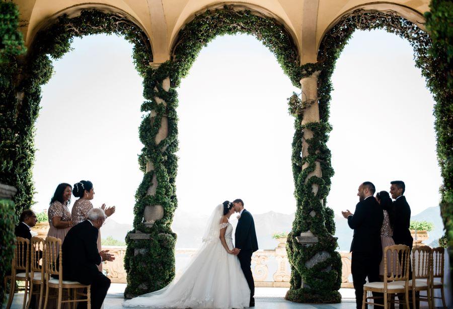 Unforgettable wedding in Villa del Balbianello